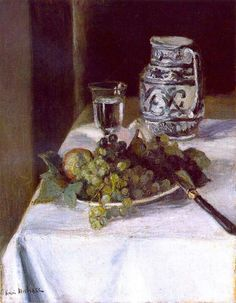 "Pintura de Henri Matisse - 1896, ""Still LIfe with Fruit"""
