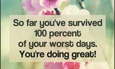 Im A Survivor, Bad Day, Survival, Personal Care, Sick Day, Self Care, Personal Hygiene