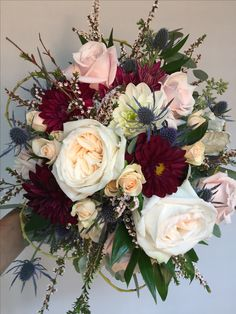 what are fall wedding flowers Fall Wedding Flowers, Bridal Flowers, Floral Wedding, Wedding Colors, Wedding Bouquets, November Wedding Flowers, Wedding Wishes, Our Wedding, Dream Wedding