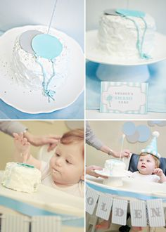 First Birthday Party: Balloon Theme