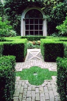 garden path with design
