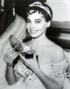 Lesliejojo Caron as Princess Estella Perrault and her Pair of Magical Glass Pointe Slippers and the Rose.