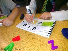 KindergartenWorks: kindergarten word work manipulative ideas