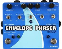 L.A. Music Canada Pigtronix Envelope Phaser Envelope & Rotary Phaser Guitar Effects Pedals, Guitar Pedals, Bass Amps, Circuit Design, Sound Design, Envelope, Musicals, Disappointed, Rotary