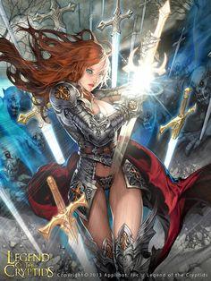 Artist: Dean Holdeen aka Holdeen - Title: Knight Of The Thousand Swords 1…
