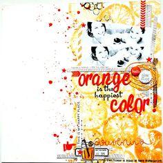 Little moments in my life: Tournoi scrap Lime Citron - Défi n°4