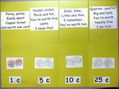 Mrs. Cates' Kindergarten: Money