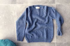 Herentrui in felted tweed van Rowan. Rowan, Tweed, Pullover, Sweaters, Fashion, Moda, Fashion Styles, Sweater, Fashion Illustrations