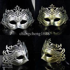 Wholesale 2Color Ancient Roman Gladiator Crown Mens Mask Mardi Gras Masquerade Halloween Costume Party MASKS, $1.9/Piece | DHgate
