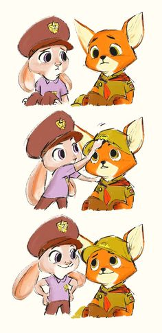 Little Nick and Judy