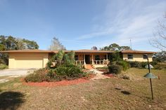 SOLD! Welcome to 114 Mini Ranch Rd., Sebring! A beautiful solid cedar built ranch home on acreage.  You will love the country living yet city close with just a five miles ride to town.