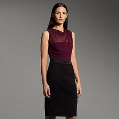 Narciso Rodriguez for DesigNation Mixed-Media Dress (collection for Kohl's).  $70 on sale for $49.  Love this!