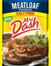 Mrs. Dash® Meatloaf Seasoning Mix (does not contain potassium chloride)