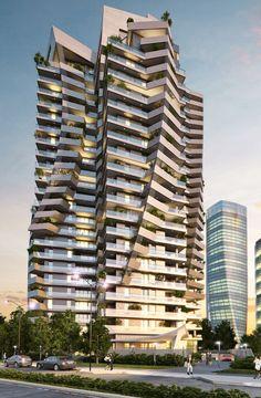 Park Tower (ex Torre Arduino) by Daniel Libeskind @ CityLife