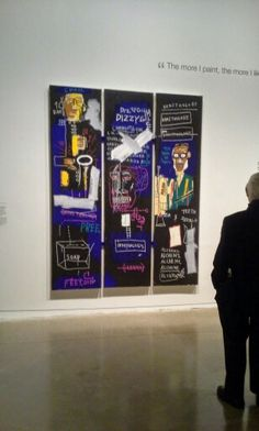 One of my favourite pieces from #Basquiat exhibit at @agotoronto on display until May 10, 2015!: http://www.thepurplescarf.ca/2015/03/culture-exhibit-ago-basquiat-nows-the-time.html #culture #Toronto #thepurplescarf #melanieps #PsCulture #BasquaitAGO