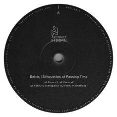 """L'avventura dell'Abstract Forms comincia con """"Silhouttes Of Passing Time"""", opera prima del suo stesso fondatore, Deixis."""