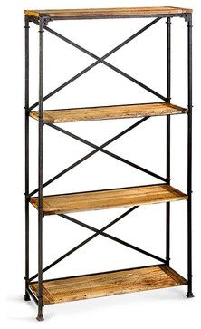 Monacco Etagere - transitional - Bookcases Cabinets And Computer Armoires - Bliss Home & Design