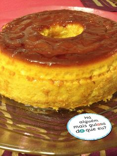 Is this the tastiest pudding in the world? Is this the tastiest pudding in the world? Portuguese Desserts, Portuguese Recipes, Other Recipes, Sweet Recipes, Delicious Desserts, Dessert Recipes, Bon Dessert, Sweets Cake, Sweet And Salty