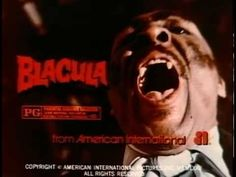 Blacula: A take on Dracula featuring an African prince (played by William H. Marshall) who is bitten and imprisoned by Count Dracula and once freed from his coffin, spreads terror in modern day Los Angeles.
