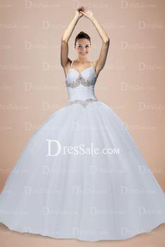 Fairy Ball Gown Tulle Floor Length Sweetheart Wedding Dress