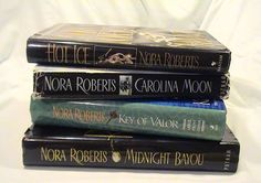 Vintage Nora Roberts Hardback Book Collection - 4 Books