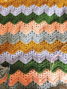 HOT: 6-Day Kid Blanket – Crochet Pattern