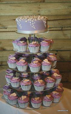 Wedding cake for Pheobe by mzsweetdivine (Sharon/shazza), via Flickr