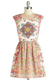 Brilliantly Balanced Dress | Mod Retro Vintage Dresses | ModCloth.com