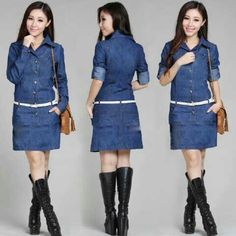 Long sarah @65rb Bhn jeans washed, lengan pjg+belt, fit Big L, seri 2pcs, ready 4mgg ¤ Order By : BB : 2951A21E CALL : 081234284739 SMS : 082245025275 WA : 089662165803 ¤ Check Collection @ : FB : Vanice Cloething Twitter : @VaniceCloething Instagram : Vanice Cloe