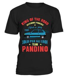 KING OF THE ROAD - PANDINO  #gift #idea #shirt #image #funny #campingshirt #new