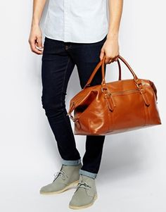 Enlarge ASOS Leather Holdall