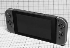 Nintendo Switch the newest game console of Nintendo was released back on 3rd March and the hype for the game console is hugeee  It's so huge that a paper craft version of Nintendo Switch is now available!  What's great about this paper model is that the Joycon part is slide-able to the screen part   #Nintendo Switch #papercraft