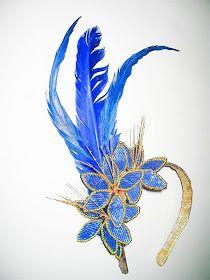 "ARTE ANITA CASTRO: ""TIARAS para o CARNAVAL"" Samba, Headdress, Headpiece, Styrofoam Head, Sunset Party, Showgirl Costume, Carnival Costumes, Hair Ornaments, 50th Birthday"
