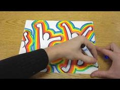 Keith Haring Style Drawing