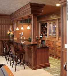 Showplace Cabinets - Living Room - traditional - Home Bar - Other Metro - Showplace Wood Products