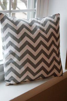 18x18 Ash Pillow Cover by KelsCozyCorner on Etsy, $22.00