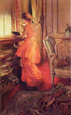reine natanson c1913 1914 douard vuillard french 1868 1940 distemper on canvas in 1909 vuillard began renting a large studio at 112