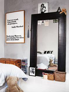 Click Interiores | Vamos Encostar o Espelho no Chão ?