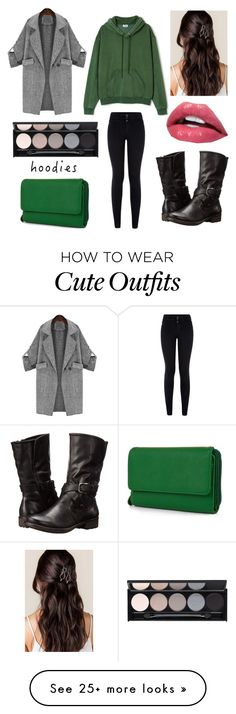 """""""Outfit Staple: Hoodies"""" by geeksandnerds on Polyvore featuring Ailin, New Look…"""