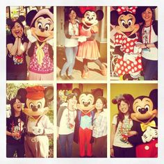 Greeting with Mickey and Minnie.色んなコスチュームのミキミニに会えた  #USA#California#Anaheim#Disneyland#Disneyland60th#Diamondcelebration#Mickey#Minnie#アメリカ#カリフォルニア#アナハイム#ディズニーランド#ミッキー#ミニー#ミッキーがよくキスしてくれた惚れ直した by smile7275