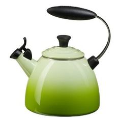 We are in need of a new teakettle.