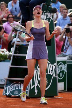 Maria Sharapova - French Open: I love this dress!
