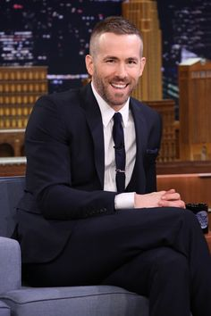 Get Ryan Reynolds' new, gentlemanly buzzcut hairstyle - GQ.co.uk