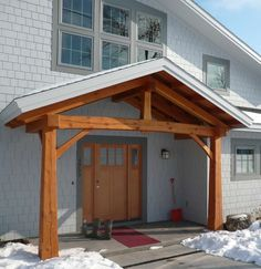 timber entryway 3 pitch - Google Search
