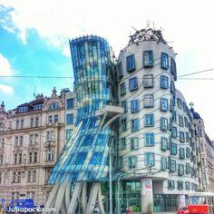 Dancing House in Prague, Czech Republic. www.justapack.com #prague #czechrepublic #travel #justapack