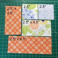 Today I've got a super cute quilt pattern tutorial to share with you using a Jelly Roll and a Layer cake and a little bit of yardage! It'...
