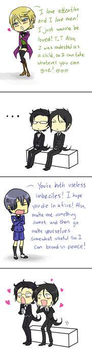 XD<<< it's funny because it's true XD poor alois