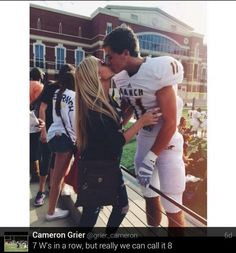 Football game relationship goals!