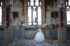 Abandoned Church Wedding Costing Just $1000: Shane & Melissa