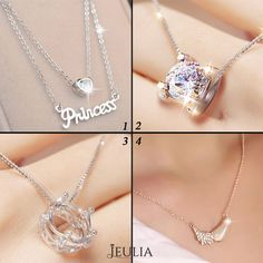 Which is your style ? #jeulia #necklace #fashionjewelry.